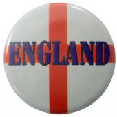 England Flag - 'St George' Button Badge